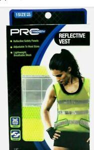 REFLECTIVE SAFETY VEST - 1 Size Fits Most by Pro Strength BRAND NEW
