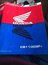 HONDA CB1100SFY 1999 WORKSHOP SERVICE MANUAL