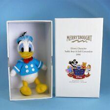 Merrythought Disney, Donald Duck Teddy Baer und Doll Convention 2008, lim