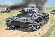 Zvezda 1/100 15mm German Panzer III G platoon 5 tanks Flames of War