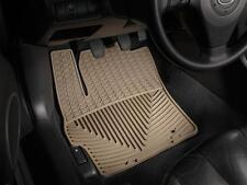 Weathertech All-Weather Floor Mats 04 05 06 07 08 09 Mazda 3 Fronts W101TN Tan