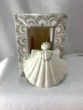 Margaret Furlong Shell Angel Ornament Has Box No Coa 3�