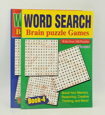 A4 Word Search Puzzles Books - Over 130 Puzzles and Solution Large