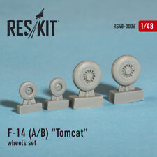 ResKit 480006 1/48 F-14A/B Tomcat Wheel Set