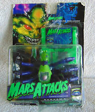 Mars Attacks Martian Spider, Night Glow S.A.D.A.A.M.A. 1996 (packaging has tape)