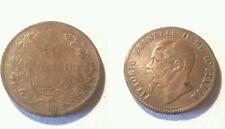 Moneta Regno d'Italia 10 centesimi 1867 H
