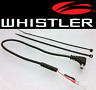 WHISTLER -  Direct Mirror Power Cord for Radar Detector                (MP-WHIS)