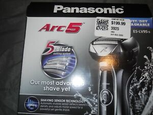 Panasonic Arc5 Men's Wet Dry Electric Razor ES-LV95 - Factory Sealed - Free Ship