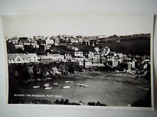 Across The Harbour Port Isaac Real Photograph Old Postcard Lansdowne RP