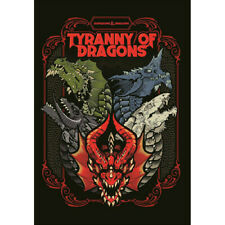 Tyranny of Dragons Alt Cover D&D 5E RPG Dungeons and Dragons Hardback