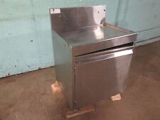 """""""Glas Tender Dba-24"""" Commercial (Nsf) Drain-Board Top Under-Counter S.S. Cabinet"""