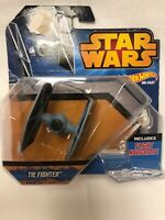 NEW Hot Wheels Star Wars Starship Tie Fighter Die Cast Vehicle Stand Navigator