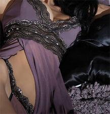 Women's Sexy G-string Underwear Lingerie Nightgown Sleepwear Babydoll Dress Set