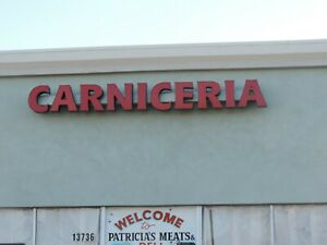 SIGN STORE FRONT (CARNICERIA)