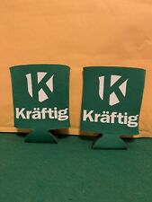 2 Kraftig Beer Can Koozies St Louis Busch Family