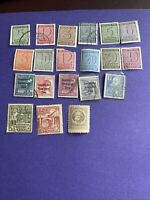 GERMANy Russian Soviet OCCUPATION ZONE-Leipzig,Saxony,Thuringen 20 Stamps