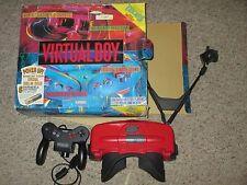 Nintendo Virtual Boy Red & Black Console with Box #VB2