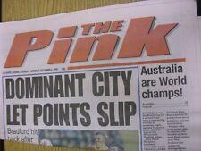 06/11/1999 COVENTRY evening Telegraph il rosa: principali titolo recita: dominante ci