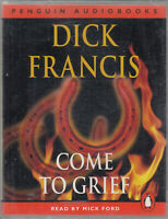 Dick Francis Come To Grief 2 Cassette Audio Book Thriller FASTPOST