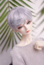 BJD doll wigs purple gray short hair wigs for 1/3 1/4 1/6 BJD DD SD doll hairs