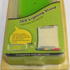 XBOX 360 LIGHTING STAND FOR ORIGINAL green 360 MIB