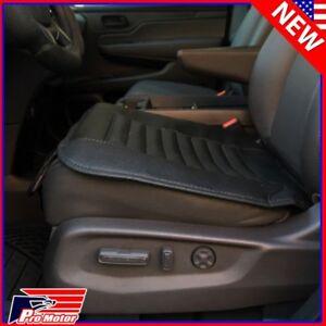 Breathable PU Bamboo Charcoal Car Seat Cushion Cover Pad Mat Protector Pockets k