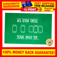 High Quality 60*90cm Texas Hold'em Poker Table Felt Poker Table Cloth