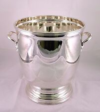 SOLID SILVER Champagne bucket 800 SCHIAVON made in Italy