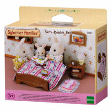SYLVANIAN Families Semi - Double Bed Dolls Furniture 5019