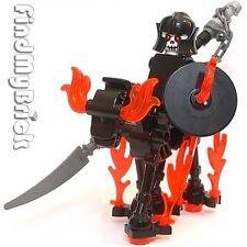 C501 Lego Ghost Army Rider Custom Knight Minifigure & Skeleton Horse NEW