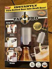 Tap Pro- Bottled Beer Into Draft Beer Instantly! Dishwasher Safe