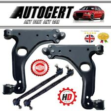 VAUXHALL ZAFIRA 05-14 FRONT LOWER SUSPENSION CONTROL ARMS WISHBONES & LINK BARS