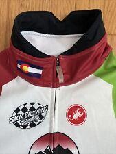 Castelli Cycling Jacket Mens XL 3 Layer With PU Membrane Ska Brewing Colorado