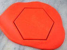 Hexagon Cookie Cutter Outline CHOOSE YOUR OWN SIZE Shape