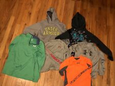 Under Armour Boys Yxl Hoodies/Shirts Lot