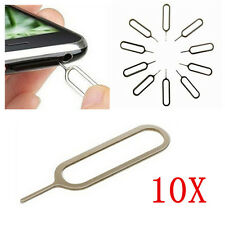10PCS Sim Card Tray Remover Ejector Pin Key Tool for iPhone 6 5S 4S 4 3 iPad Lot