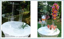 Luxus Soporte decoración,Soporte tartas,Division,Juego De 4,Boda,Party,