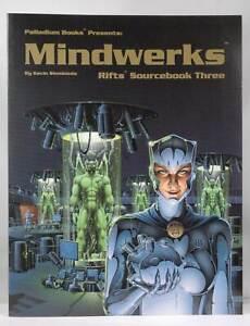 Signed: Signed Mindwerks Rifts Sourcebook Three  Kevin Siembieda Palladium Autog