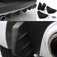 Bumper Diffuser Molding Point Garnish Lip Under Splitter Black for LINCOLN Car
