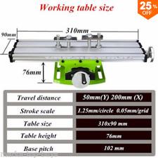 HILDA BG6300 Mini Precision Milling Machine Worktable Multifunction Drill Vise F