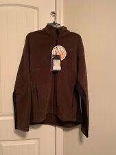 Men's Beretta Polartec 200 Fleece Jacket Full Zip Brown # 3401 Large