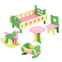 Children Toddler Educational Development Toys Wooden Play Furniture Kids Gift