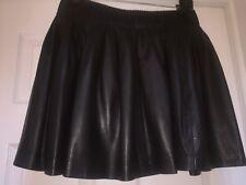 D&G Leather Skirt Sz42
