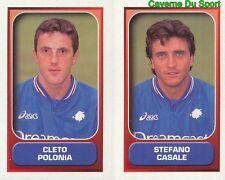 567 POLONIA - CASALE ITALIA SAMPDORIA FIGURINE STICKER CALCIO MERLIN 2000-2001