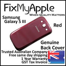 Samsung Galaxy S III S3 i9300 Red Back Rear Cover Battery Housing Door Case 3G