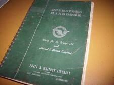 Pratt Whitney Wasp Jr B, H1 & Hornet E Operators Book