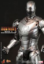 "IRON MAN 2~MARK II~12"" FIGURE~ARMOR UNLEASHED VERSION~EXCLUSIVE~HOT TOYS~MIB"