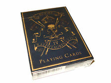 Ralph Lauren Skull Crossbones Black Playing Cards Poker Rugby Design