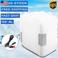 12V 4L Mini Refrigerator Fridge Portable Travel Auto Car Freezer Cooler + Warmer