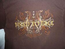 Dead to Fall metal metal core tour shirt Villainy & virtue shirt SZ S